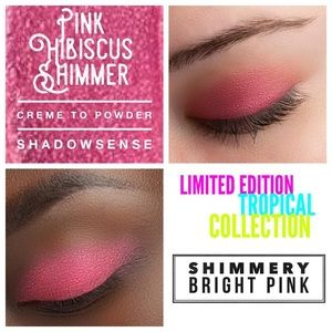 Pink Hibiscus Shimmer ShadowSense LIMITED EDITION